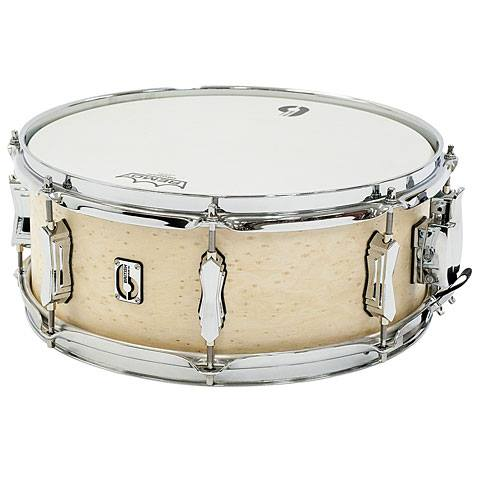"British Drum Co. 14 x 5.5"" Lounge Snare Drum - Wiltshire White"
