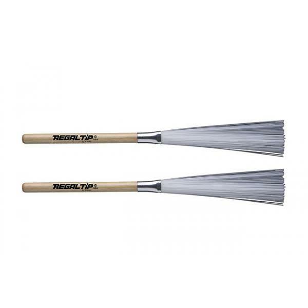 Regal Tip Ultra Flex Nylon Brushes- Wood Handle-0