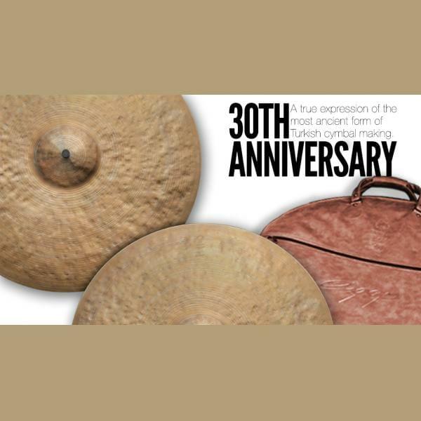 "Istanbul Agop 30th Anniversary - 18"" Crash Cymbal-2549"