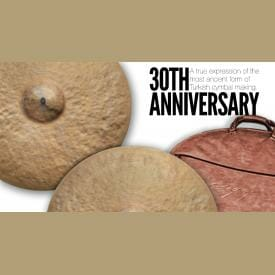 "Istanbul Agop 30th Anniversary - 19"" Crash Cymbal-2547"