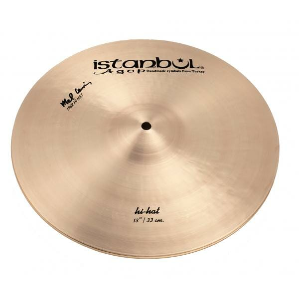 """Istanbul Agop Signature Series - Mel Lewis 13"""" Hi Hat Cymbals-0"""