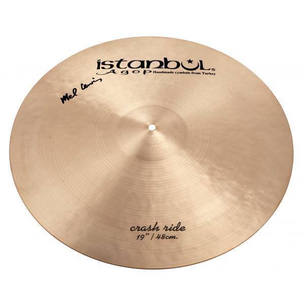 "Istanbul Agop Signature Series - Mel Lewis 19"" Crash/ Ride Cymbal-0"