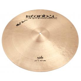 "Istanbul Agop Signature Series - Mel Lewis 21"" Ride Cymbal-0"