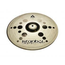 """Istanbul Agop Xist ION Brilliant 10"""" Hi Hat Cymbals-0"""