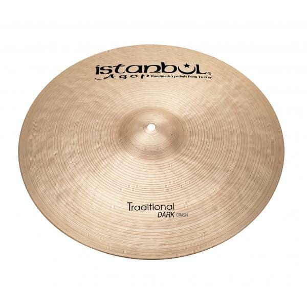 "Istanbul Agop Traditional Dark 18"" Crash Cymbal-0"
