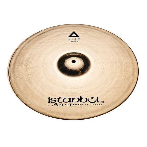"""Istanbul Agop Xist Brilliant 14"""" Hi Hat Cymbals-0"""