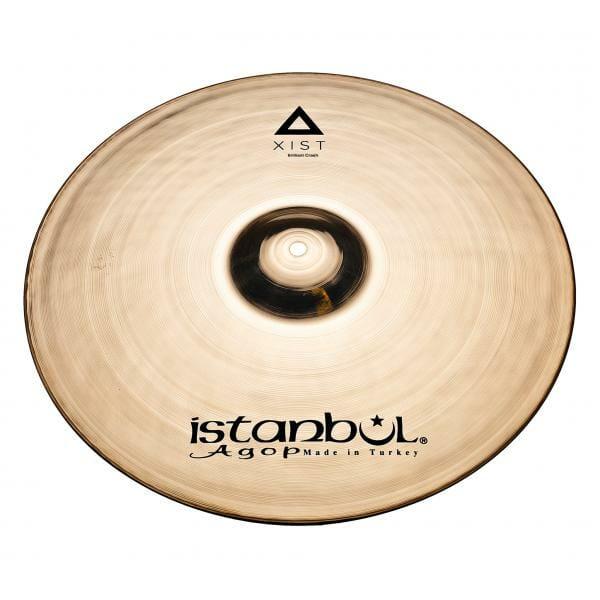 "Istanbul Agop Xist Brilliant 17"" Crash Cymbal-0"