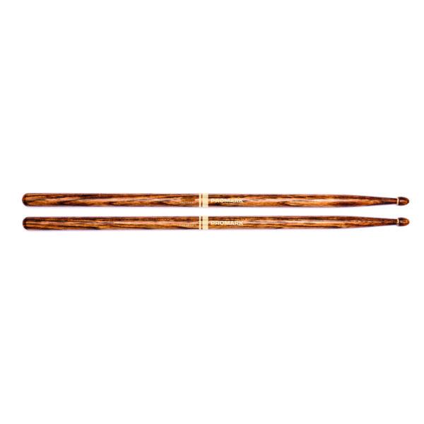 Promark FireGrain 5B Oval Tip Drum Sticks-0