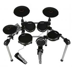 Carlsbro Mesh Electronic Commander Drum Kit CSD500 - Free Headphones -0