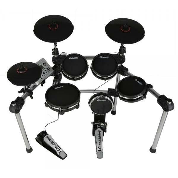 Carlsbro Mesh Electronic Commander Drum Kit CSD500 - Free Headphones -0