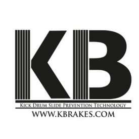 K Brakes Non Slip Bass Drum Feet-2636