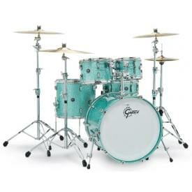 Gretsch Renown Maple 2016 Shell Pack Turquoise Premium Sparkle 12/14/18