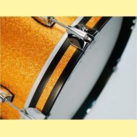 """Gretsch USA Brooklyn Shell Pack Gold Sparkle 10"""" x 7"""" TT / 12"""" x 8"""" TT / 16"""" x 14"""" FT / 22"""" x 18"""" BD"""