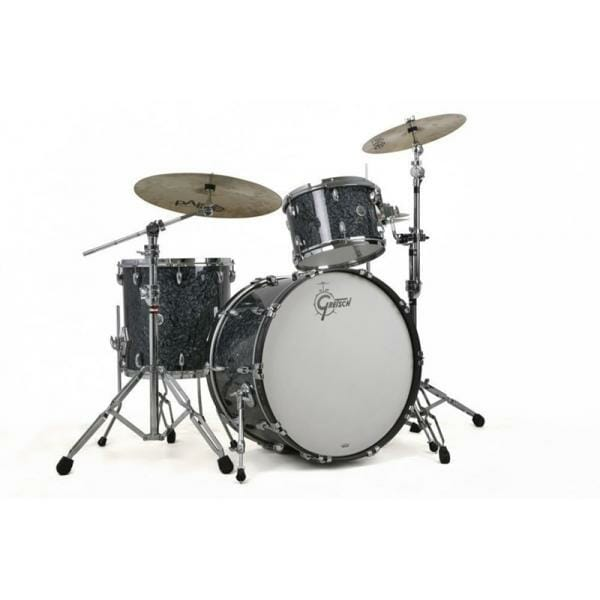 "Gretsch USA Brooklyn Shell Pack Deep Marine Black Pearl 10"" x 7"" TT / 12"" x 8"" TT / 16"" x 14"" FT / 22"" x 18"" BD"