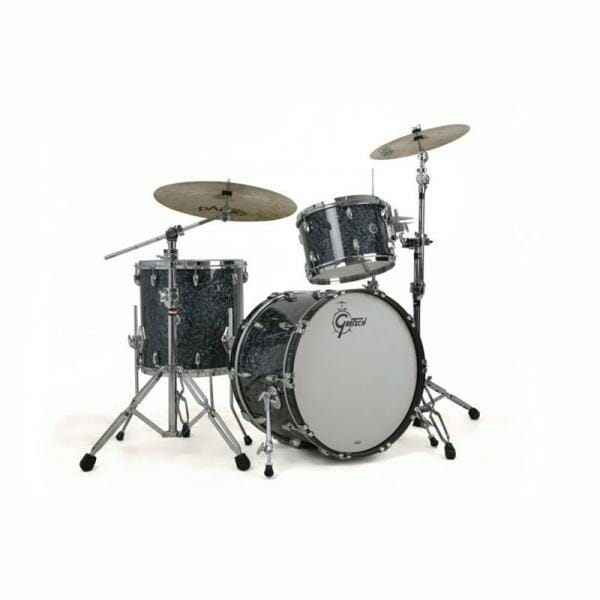 "Gretsch USA Brooklyn Shell Pack Deep Marine Black Pearl 13"" x 9"" TT / 16"" x 16"" FT / 24"" x 14"" BD"