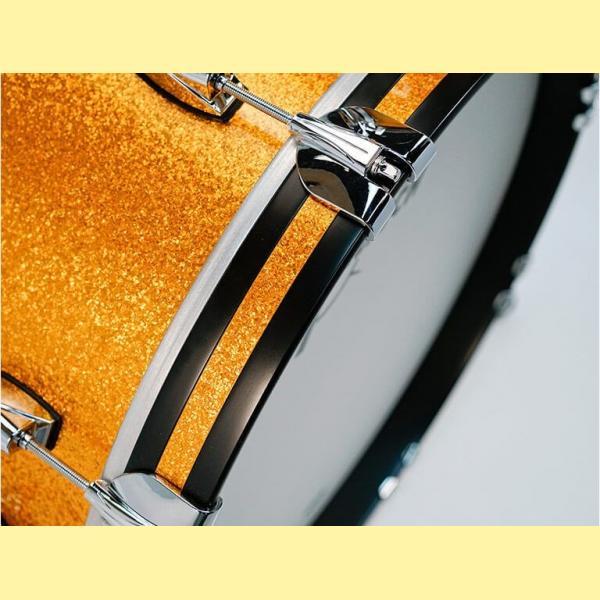 """Gretsch USA Brooklyn Shell Pack Gold Sparkle 12"""" x 8"""" TT / 14"""" x 14"""" FT / 20"""" x 14"""" BD - GR808088"""