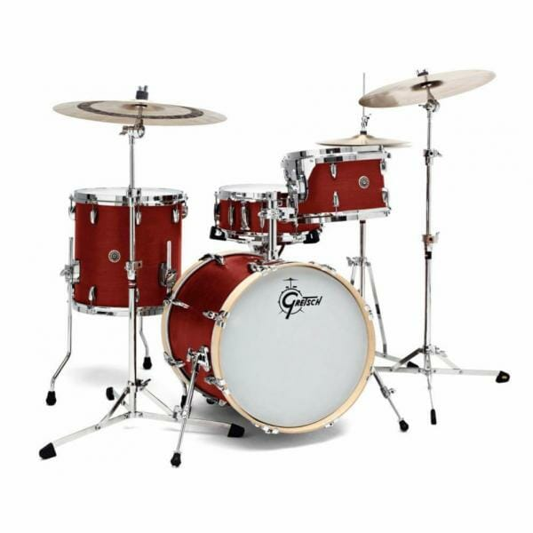 "Gretsch USA Brooklyn Shell Pack Satin Cherry Red 12"" x 8"" TT / 14"" x 14"" FT / 18"" x 14"" BD - GR808048"
