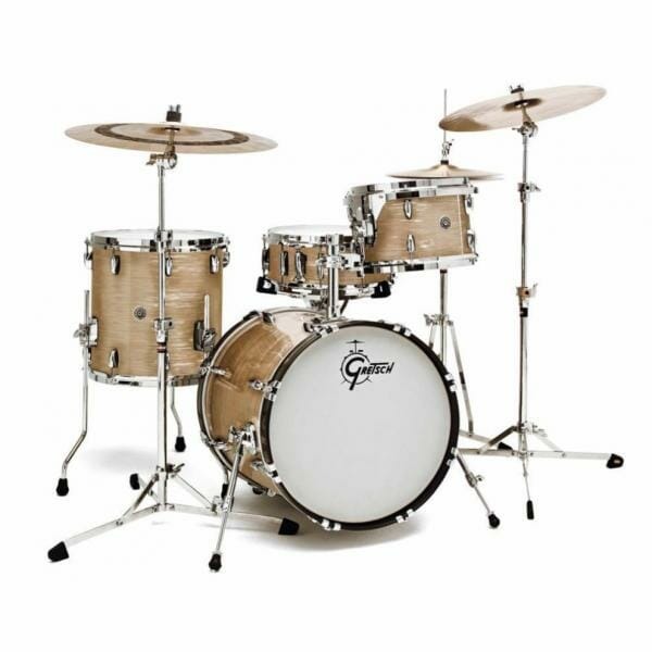 "Gretsch USA Brooklyn Shell Pack Cream Oyster 12"" x 8"" TT / 14"" x 14"" FT / 18"" x 14"" BD - GR808042"