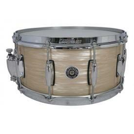 Gretsch Brooklyn Snare Drum Cream Oyster - 14 x 6.5 Lightning Throw