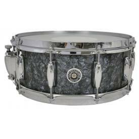 Gretsch Brooklyn Snare Drum Deep Marine Black Pearl - 14 x 5.5 Lightning Throw