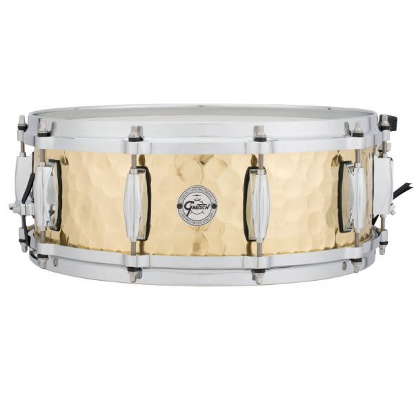 Gretsch S1-0514 Silver Series 14x5in Hammered Brass Snare