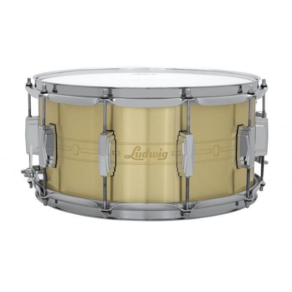 Ludwig Heirloom Brass Snare drum