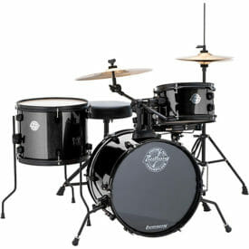 LUDWIG The Pocket Kit - Black Sparkle