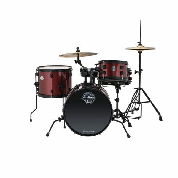 LUDWIG The Pocket Kit - Wine Red Sparkle