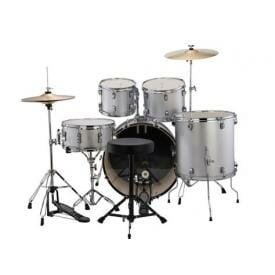 LUDWIG Accent Drive 5 PC - Silver Foil