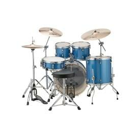 "LUDWIG 20"" 5 Piece Evolution Outfit w/HW - Blue Sparkle"