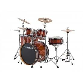 "LUDWIG 22"" Evolution Maple Shell Pack - Mahogany Burst"