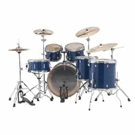 "LUDWIG 22"" Evolution Maple Shell Pack - Transparent Blue"