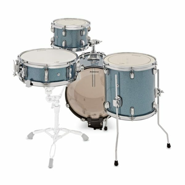 Ludwig Breakbeats Questlove 16in 4Pc Shell Pack, Red Sparkle