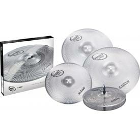 Uploaded ToSABIAN QUIET TONE PRACTICE CYMBALS SET QTPC504