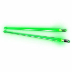 Firestix Light Up Drumsticks Green