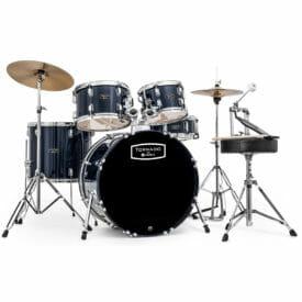 "Mapex Tornado Starter Drum Kit - 22"" Rock Fusion - Blue"