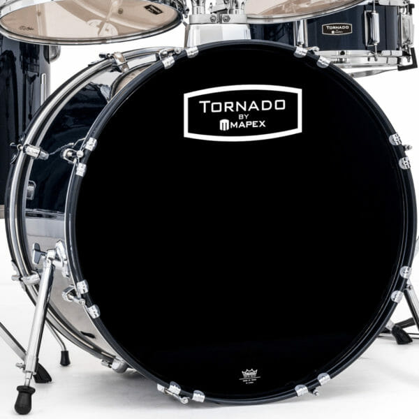 "Mapex Tornado Starter Drum Kit - 22"" Rock Fusion - Blue"