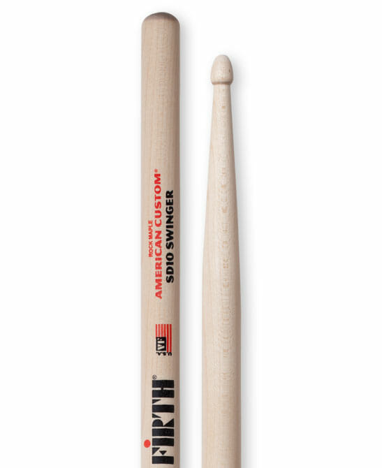 Vic Firth American custom sd10 swinger sticks maple