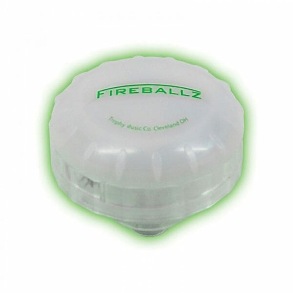 FIREBALLZ CYMBAL LIGHT SCREAMING GREEN
