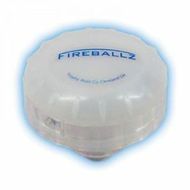 FIREBALLZ CYMBAL LIGHT BRILLIANT BLUE