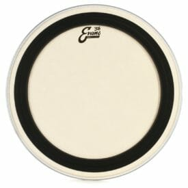 Evans EMAD Calftone Bass Drum Head 24""