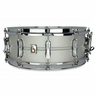 "British Drum Co 14x6.5""LEGEND SNARE-WINCHESTER GREY"