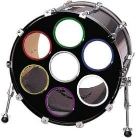 Bass Drum O's Blue 4 inch