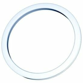 Bass Drum O's 2 inch White - 2 pack