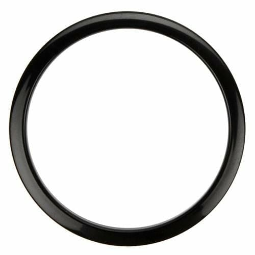 bass drum o's 6 inch black oval