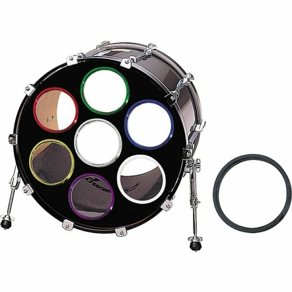 """bass drum 0's 2"""" 2 pack"""