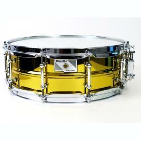 "Worldmax Yellow Steel Snare 14"" x 5"""