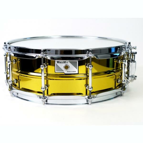 "Worldmax Yellow Steel Snare 14"" x 5"""
