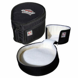 "ahead armor 14"" x 18"" kick drum case w /leg"