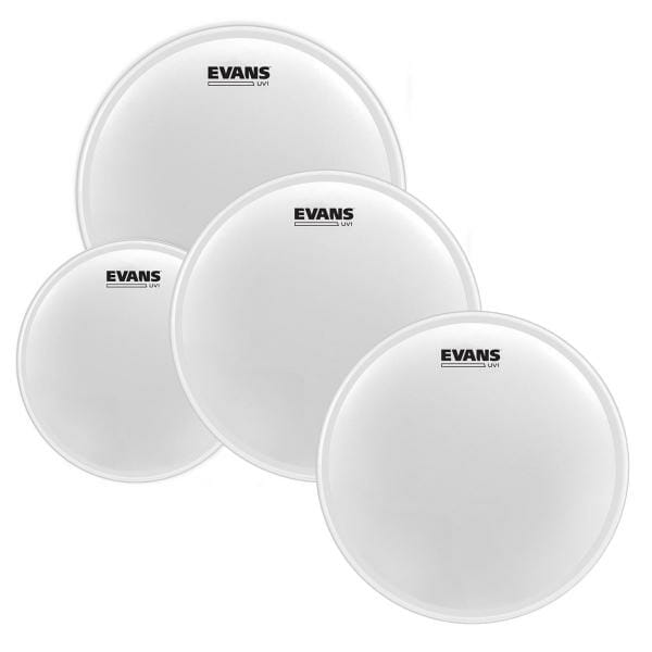 """Evans UV1 Coated Tom Pack-Fusion (10"""", 12"""", 14"""")"""
